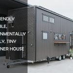 CAT-FRIENDLY PORTABLE, ENVIRONMENTALLY FRIENDLY, TINY CONTAINER HOUSE